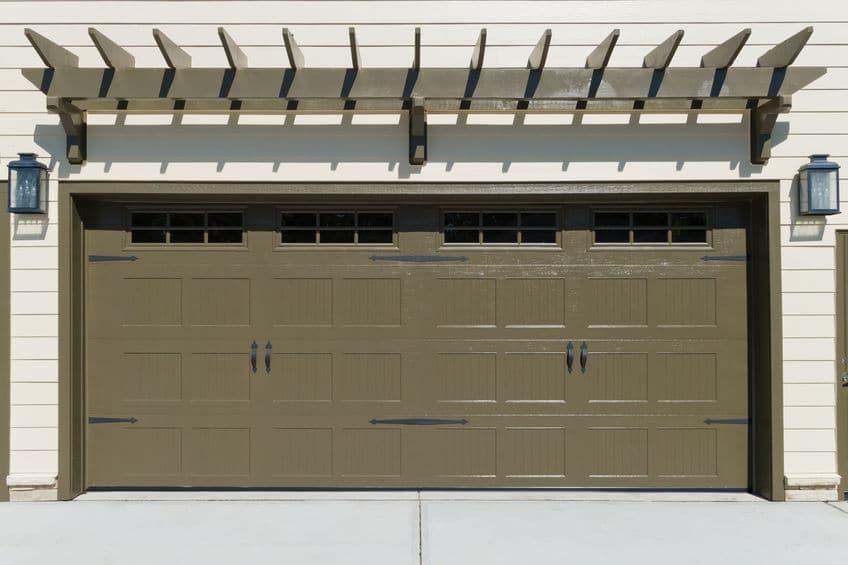 Large Garage - Ideal Garage Doors